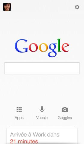 Google Now est maintenant disponible pour iPhone et iPad