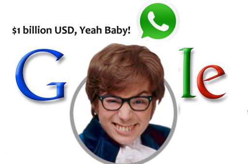 Google serait en train de négocier pour 1 milliard de dollars l'acquisition de WhatsApp