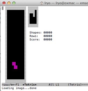 Jouer à Tetris et d'autres jeux de bases depuis le terminal de votre Mac