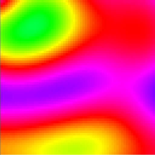 Pleins de couleurs en pixels pour Juhani Imberg