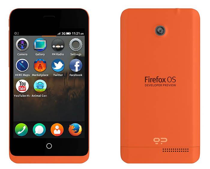 Le Keon est le premier modèle public embarquant Firefox OS