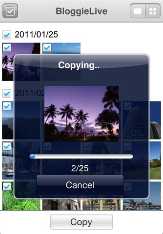PlayMemories Mobile est accessible sur Android et iOS et permet de transférer des photos / vidéos