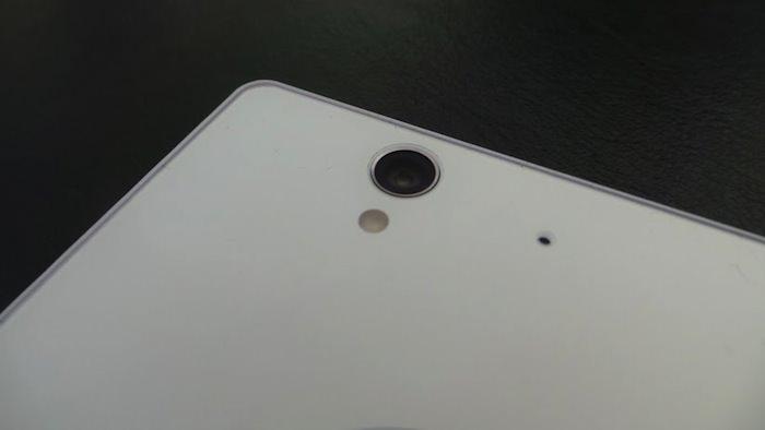 Caméra arrière de 13 mégapixels