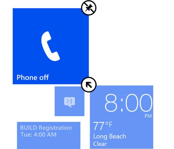Une mise à jour de Windows Phone pourrait ajouter une colonne supplémentaire de Live Tiles