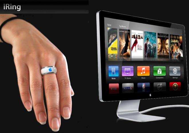 L'iRing un concept sympa pour une bague permettant de faire office de télécommande pour l'iTV