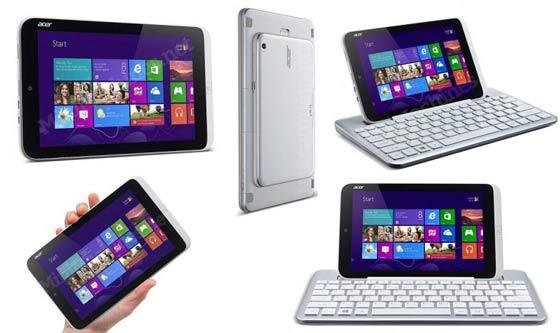 L'Iconia W3 est dotée d'un astucieux clavier Bluetooth