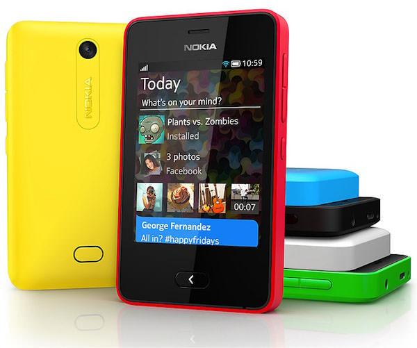 Attention Firefox OS et Tizen, Nokia vous a en ligne de mire avec le Asha 501
