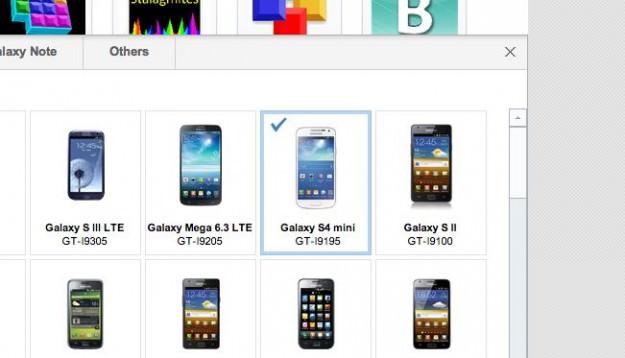 Démasqué ! Le Samsung Galaxy S4 Mini débarque sur le propre site Web de l'entreprise