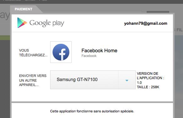 Il est désormais possible d'installer Facebook Home sur le Galaxy S4 ou le HTC One
