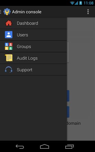 Google Admin sur Android permet de gérer les comptes Google Apps