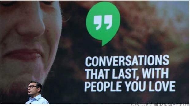 Google Hangouts a été dévoilé lors de la I/O 2013