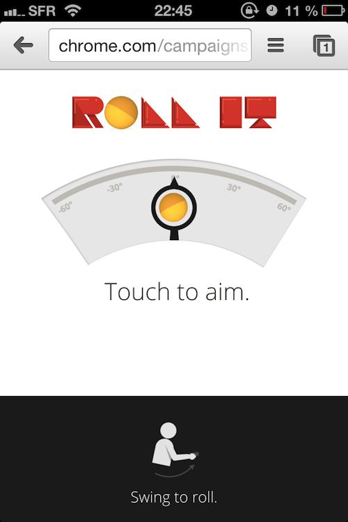 Google lance 'Roll It' une nouvelle expérience de jeu pour Chrome
