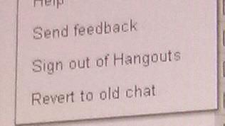 Des captures d'écran dévoilent le futur Hangouts