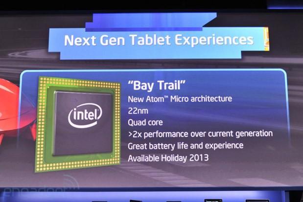 Intel espère que son nouveau Atom va revitaliser les tablettes Windows 8