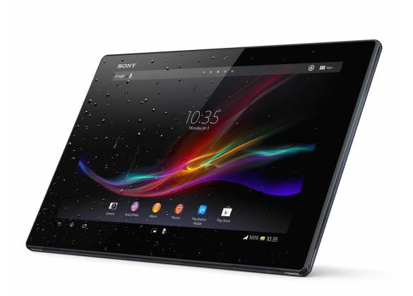 La Xperia Tablet Z ressemble fortement au smartphone Xperia Z, devenu le fleuron de Sony