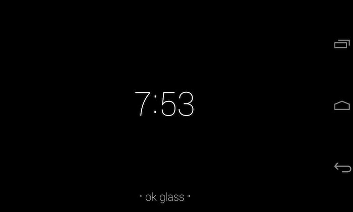Glass Home va se comporter tel un lanceur d'applications