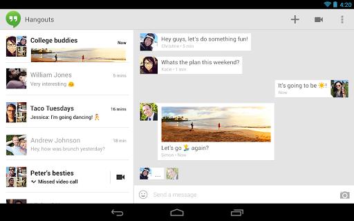 Une version de chat unifiée permet de retrouver vos conversations sur tous les services