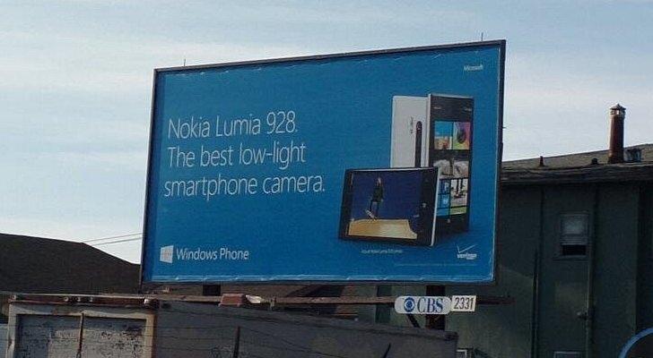 Une publicité vient confirmer le fait que le Lumia 928 sera prochainement dévoilé