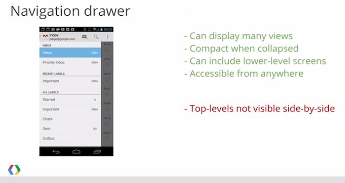 Les refontes de Gmail et Agenda fuitent dans une séance vidéo de la Google I/O