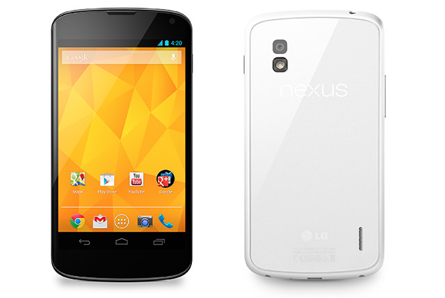 LG annonce un Nexus 4 blanc qui sera lancé le 29 mai
