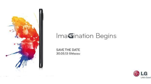 LG annoncera un nouveau smartphone, le 30 mai, qui ressemblera à un autre Optimus G Pro