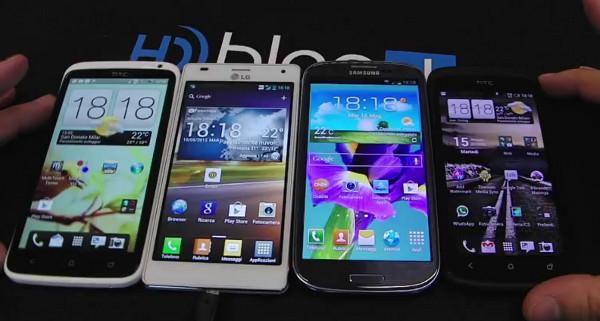 LG, HTC et Samsung envisagent de dévoiler des smartphones en automne pour rivaliser avec l'iPhone 5S