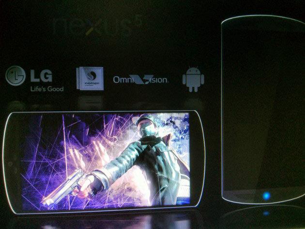 Un concept d'un Nexus 5 produit par LG