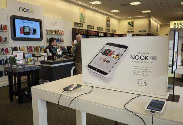 Microsoft tenterait d'acheter Nook pour 1 milliard de dollars