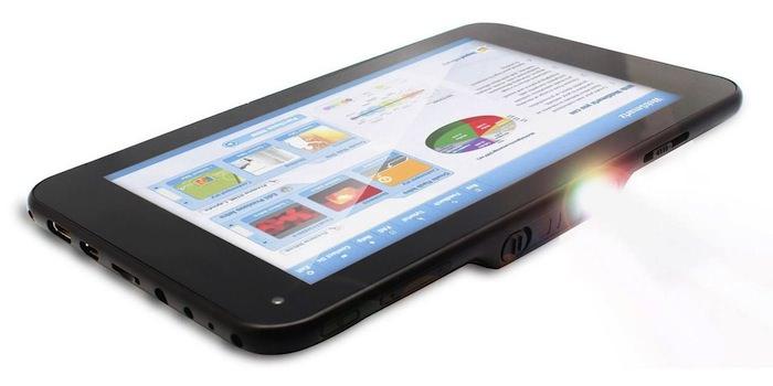 Promate lance LumiTab, la tablette première avec un projecteur intégré