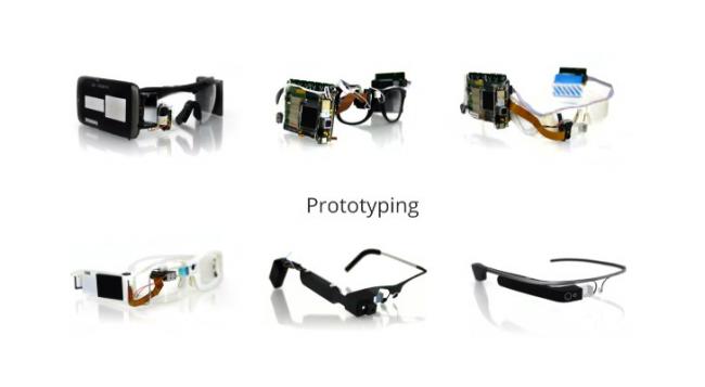 Si vous pensez que le design des Google Glass est trop futuriste, regardez à quoi ressemblait le 1er prototype