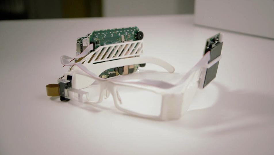 Composants imprimés en 3D pour les Google Glass