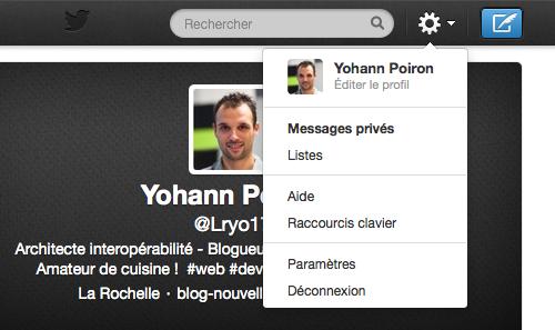La double authentification nécessite d'être activée dans les paramètres de Twitter