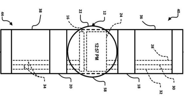 Un brevet pour la smartwatch Google suggère deux écrans tactiles