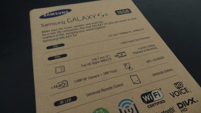 Le pré-supposé 'Google Edition' Samsung Galaxy S4 disposerait des mêmes spécifications matérielle