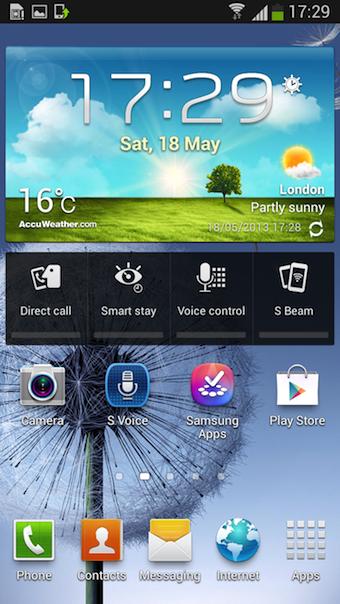 Les fonctionnalités du S4 arrivent sur le Galaxy S III