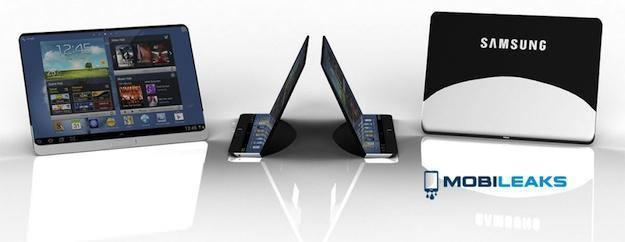 Une tablette avec un écran flexible lancée par Samsung dans un avenir proche ?