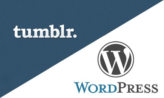 WordPress mentionne que les blogs Tumblr ont été exportés à gogo après l'acquisition de Yahoo!