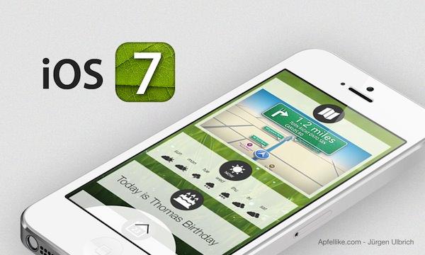 iOS 7 devrait être quelque chose de complètement radical par rapport à ce que l'on connait aujourd'hui