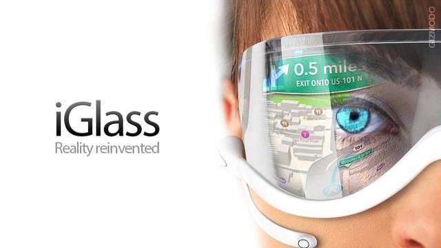 Un concept intéressant des lunettes connectées d'Apple : iGlass