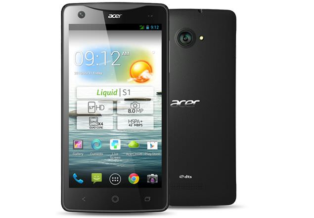 Acer entre dans le monde de la phablette avec le Liquid S1, un dispositif de 5.7 pouces