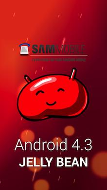Écran d'accueil de Android 4.3