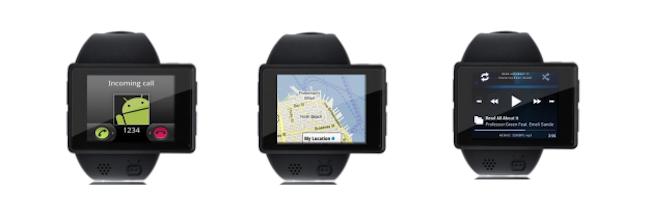 Androidly est la première smartwatch Android