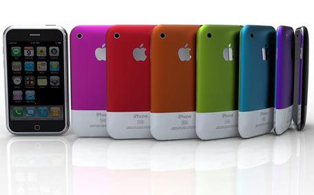 Apple pense à des iPhones plastiques avec des écrans de 4.7 et 5.7', disponibles en plusieurs coloris