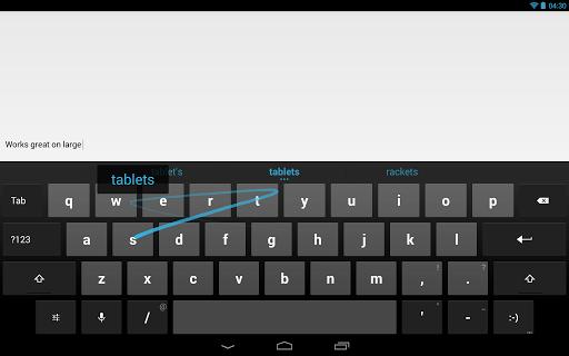 Clavier Google est maintenant sur le Play Store pour Android