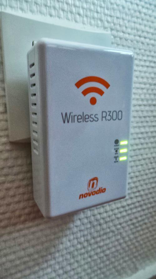 Novodio Wireless 300 en cours d'utilisation