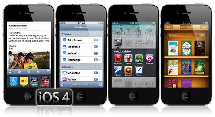 iOS 4.0 : multitâche, FaceTime et dossiers