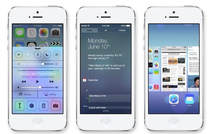 iOS 7.0 : la fin du skeuomorphisme