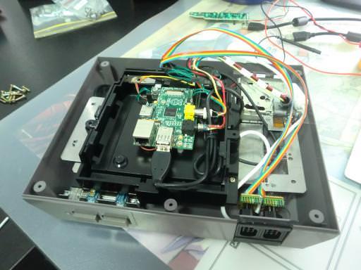 Un Raspberry Pi intégré dans la NES