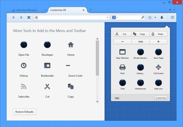 Firefox retouche son interface utilisateur ressemblant davantage à Chrome