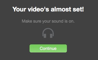 Une fois la vidéo générée, une musique est automatiquement ajoutée